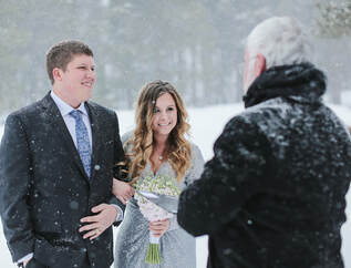 Colorado wedding officiant, wedding ceremony